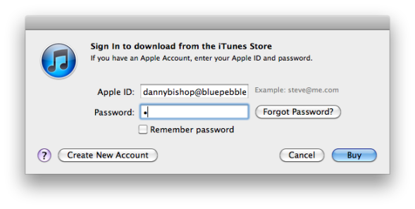 "iTunes ""Buy"" action label"