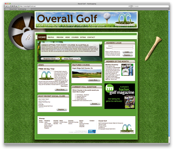 Overall Golf