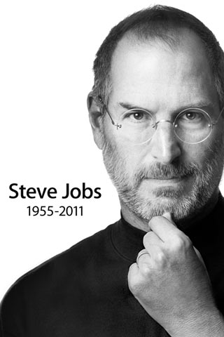 RIP Steve Jobs - iPhone Wallpaper