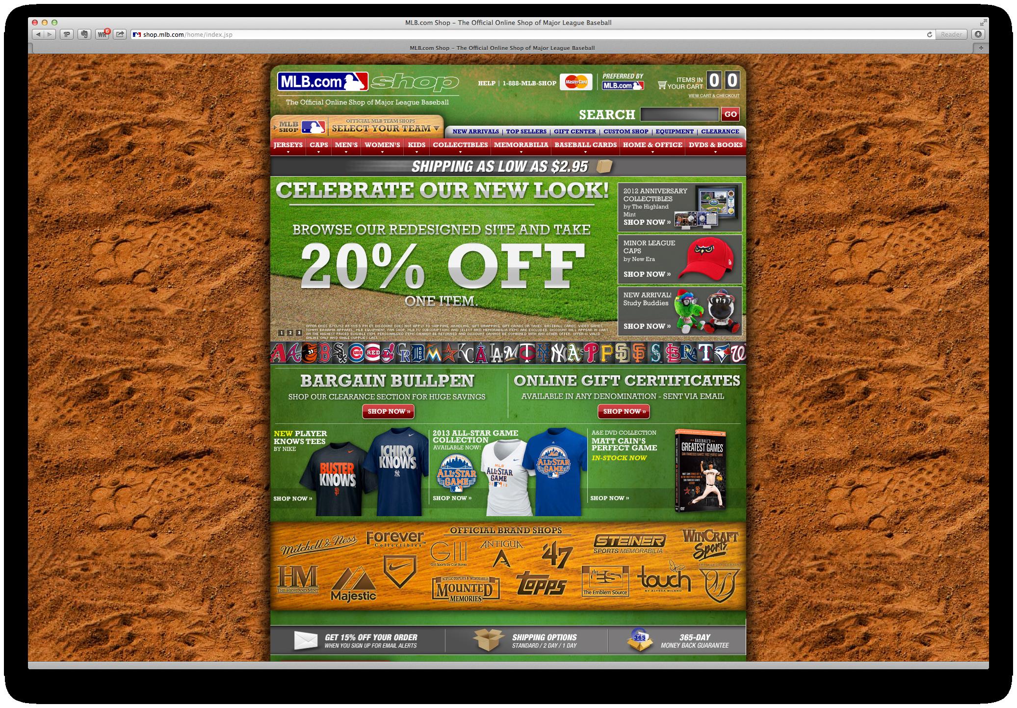 Review of the MLB Shop    Danny Bishop - Digital & Social