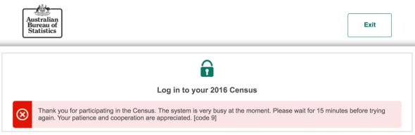 Census Failure
